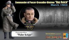 Dragon 1/6 WWII Commander Of Panzer-Grenadier-Division Das Reich Walter Krüger