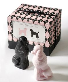Another great find on #zulily! Poodle Soap & Gift Box Set #zulilyfinds