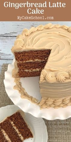 This amazing Gingerbread Latte Cake recipe is so flavorful! Perfect balance of g… This amazing Gingerbread Latte Cake recipe is so flavorful! Perfect balance of g… – Food Cakes, Cupcake Cakes, Spicy Recipes, Baking Recipes, Dessert Recipes, Fall Cake Recipes, Top Recipes, Recipes Dinner, Recipies