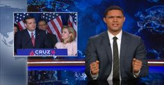 Donald Trump Becomes the GOP's Presumptive Presidential Nominee - The Daily Show with Trevor Noah (Video Clip) Trevor Noah, The Daily Show, Comedy Central, Video Clip, Donald Trump, Ted, Donald Tramp, Videos