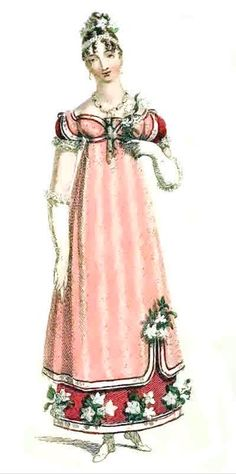 Evening Gown Christmas 1815