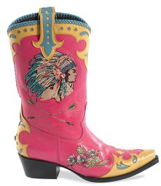 Retro Cowboy Boots by Lane Boots & Double D Ranch.