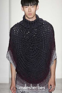 maison-malesherbes:  [ Fashion ] Parson's MFA SS2015 Please follow us on our FACKBOOK page, if you interested and also to know more about us and crochet, knitting, arts, fashion, movies and more… https://www.facebook.com/maisonmalesherbes/