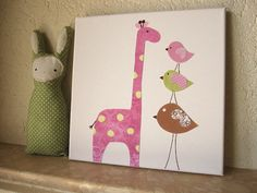 Nursery Canvas Artwork