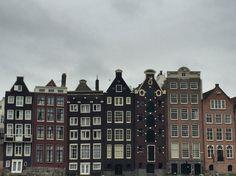 Amsterdam buildings ☁️