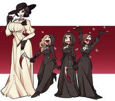 Tyrant Resident Evil, Resident Evil Girl, Resident Evil Collection, Character Art, Character Design, Lady, The Evil Within, Fan Art, Monster Girl