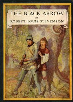 "Illustration from ""The Black Arrow,"" by Robert Louis Stevenson (1916)"