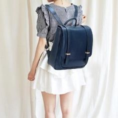 Faux Leather Backpack from #YesStyle <3 BeiBaoBao YesStyle.com
