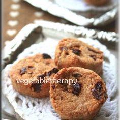 シナモンレーズンおからクッキー