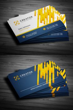 Business card for fast food company business card print custom flat business card corporate identity businesscards reheart Gallery