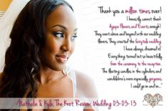 Special reveiw on The Knot www.theknot.com for Agape Flowers and Events #wedding #planning #events #flower #floral #decor #design #ideas #ilovemyjob #miami #florida #southflorida