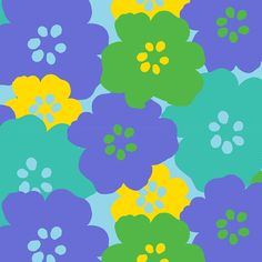 The purple flower print is part of the Mixed Bag Designs collection of reusable bags and totes