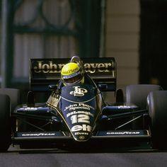 1986 Ayrton Senna, John Player Special Lotus Team, Lotus 98T Renault