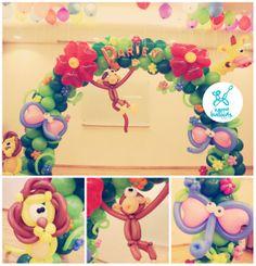 safari decorating ideas for party   Safari_balloon_decoration_arch_balloons.animals.jpg