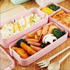 Student Lunches, Lunch Box With Compartments, Soup Containers, Boite A Lunch, Wheat Straw, Lunch Box Recipes, Micro Onde, Bento Box Lunch, Food Grade