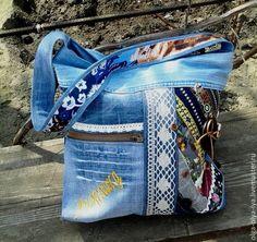 """Купить сумка"""" Унесённые ветром"""" заказ. - разноцветный, джинсовый стиль, бохо-стиль, бохо сумка"""