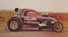 Mondello & Matsubara's beautifully painted Fiat Fuel altered