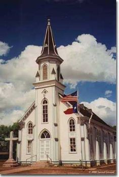 Texas Painted Churches: Built by century immigrants to this rough but prom… – 2020 World Travel Populler Travel Country Old Country Churches, Old Churches, Catholic Churches, Palaces, Take Me To Church, Church Architecture, Cathedral Church, Church Building, Chapelle