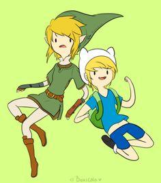 Link & Finn El Humano