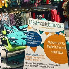 #repost @lempeepuoti -  Lempee matkaa lauantaina Kellohallille Lastenvaatekarnevaaleihin. Nähdään siellä! #kotimaisetvaatteet #madeinfinland #tapahtumapäivä #helsinki  #lastenvaatekarnevaali #lempee #melliecodesign #paapiidesign @paapiidesign #johannakdesign #bykiraclothing Helsinki, Pop Up, Cover, Instagram Posts, Books, Libros, Book, Blankets, Book Illustrations