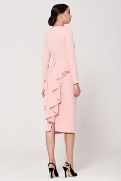 Simple Dresses, Sexy Dresses, Casual Dresses, Fashion Dresses, Girls Dresses, Classy Work Outfits, Stylish Outfits, Mother Of Groom Outfits, Maid Dress
