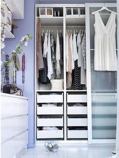 Espacios pequeños: no renuncies a tu vestidor