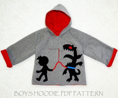 Boys sewing pattern PDF boys clothes by MyChildhoodTreasures