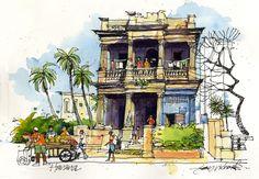 Drawing Hemingway's Cuba