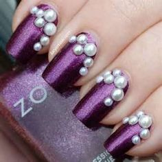 #pearls #purple