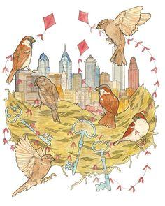 Philly Nest by Sarah Ryan