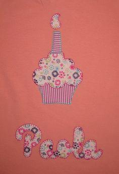 cocodrilova: camiseta cumpleaños para paola   #camiseta   #cumpleaños   #cupcakes