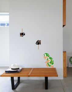 Create a unique video game scene by adding this Hammer Bro wall decal to your Super Mario wall sticker collection. Hammer Bro, Teen Room Makeover, Wall Sticker, Game Room, Wall Murals, Wall Decor, Mural Ideas, Furniture, Mario