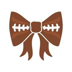 Football Bow Cuttabl