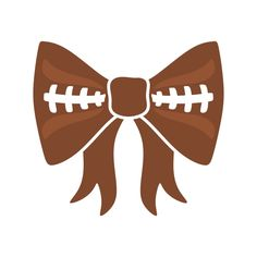 Football Bow Cuttable Design Cut File. Vector, Clipart, Digital Scrapbooking Download, Available in JPEG, PDF, EPS, DXF and SVG. Works with Cricut, Design Space, Sure Cuts A Lot, Make the Cut!, Inkscape, CorelDraw, Adobe Illustrator, Silhouette Cameo, Brother ScanNCut and other compatible software.