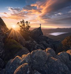 The Magical Beauty of Australian Mountains by Dylan Gehlken #inspiration #photography