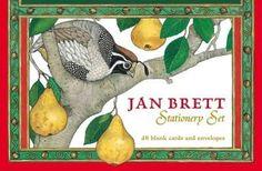 Jan Brett Stationery Set