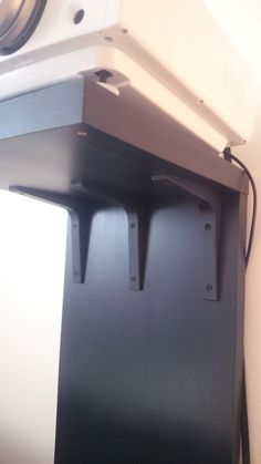 A video projector stand - brackets