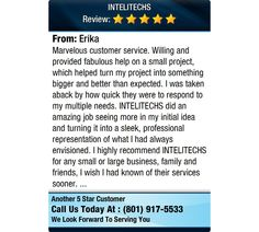 Marvelous customer service. Willing and provided fabulous help on a small project, which...
