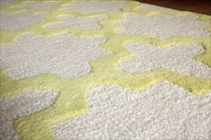 Yellow Nursery Rug