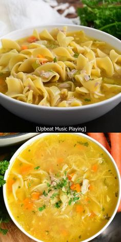 Chicken Vegetable Noodle Soup, Chicken Noodle Soup Rotisserie, Homemade Chicken And Noodles, Chicken Potato Soup, Homemade Vegetable Soups, Chicken Pasta, Panera Chicken Noodle Soup, Chicken Broth Soup, Homemade Chicken Salads