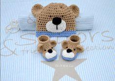 Wer Teddy-Motive mag und für ein Baby häkeln möchte, kommt an dieser Häkelanleitung nicht vorbei. Hol Di die Anleitung jetzt und dann fang gleich an.