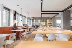 N.V. Het Havengebouw by Fokkema & Partners, Amsterdam   The Netherlands restaurant