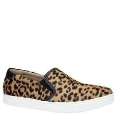 Gianvito Rossi animal print leopard print sneaker calf hair. From shop.wunderl.com