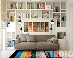 home office design - zdjęcie od MIKOŁAJSKAstudio