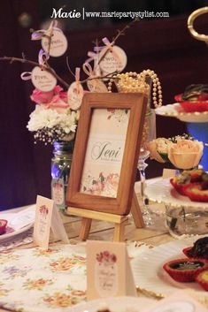 Tea Party Bridal/Wedding Shower Party Ideas   Photo 8 of 10   Catch My Party