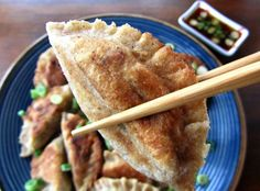 Paleo/AIP mandoo Korean dumplings from Flash Fiction Kitchen