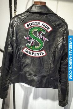 Buy Southside Riverdale Serpents PU Leather Jackets Women Riverdale Serpents Streetwear Leather Coat Hoodie at Wish - Shopping Made Fun Harajuku, Coats For Women, Jackets For Women, Clothes For Women, Black Jackets, Pink Leather Jackets, Girls Coats, Denim Jackets, Outerwear Jackets