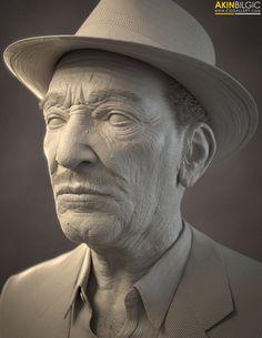 Free ZBrush Model - Musician's Portrait