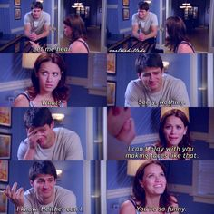 WHEN HALEY WAS WORRIED FOR NATHAN AND HE WANTED TO REASSURE HER HE'D BE OKAY, SO HE DID THIS!! Xoxo F