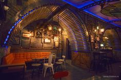 Steampunk Submarine Pubs - 6th-Sense's Bar Interior Design Creates the Feeling of Being Undersea (GALLERY)